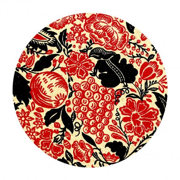 decorative ceramic plate Natura for drain plug, basins Cocktail, Flute, Hurricane