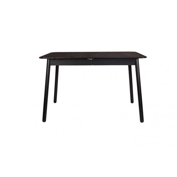 söögilaud Glimps Black, 120/162x80 cm
