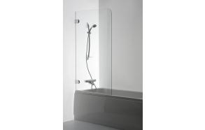 Shower screen  MEDA , clear glass