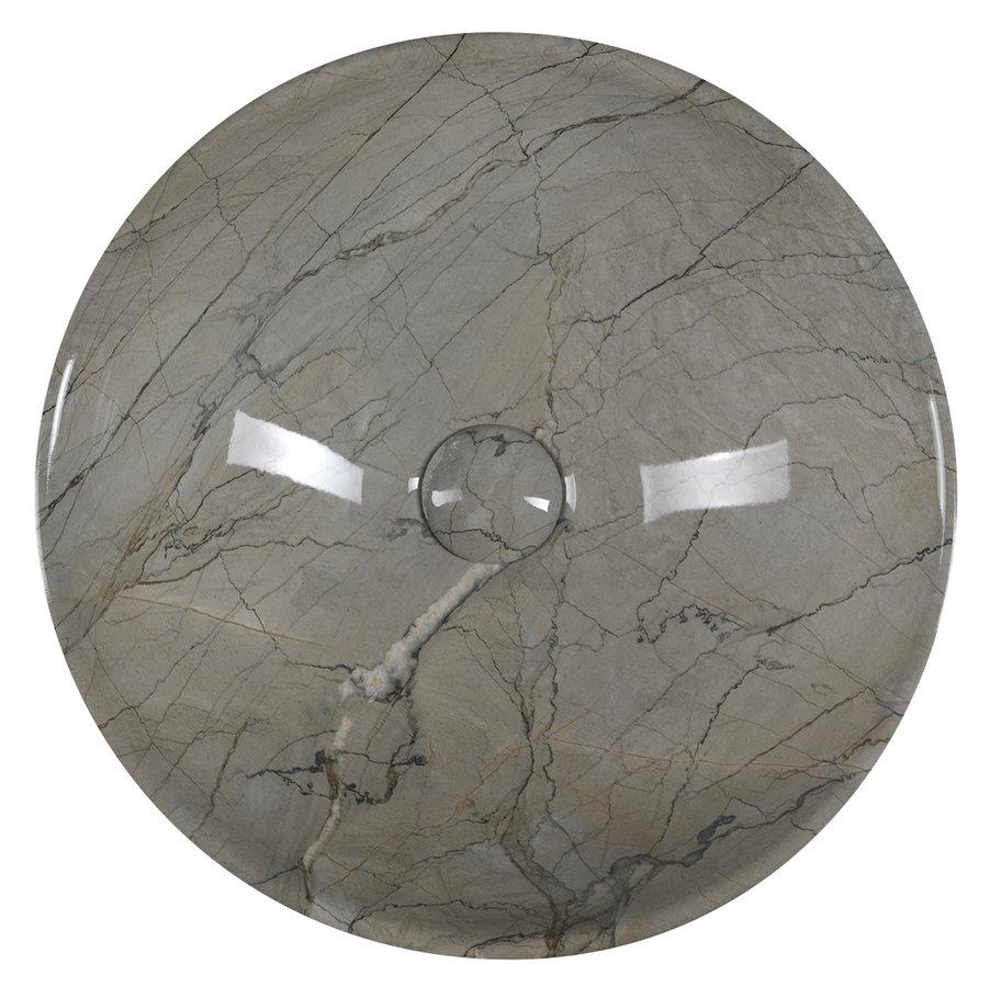 pesuallas Interia Dalma harmaa, 42 x 16 cm, pohjaventtiili ei kuulu toimitukseen