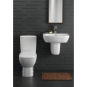WC compacts and washbasins