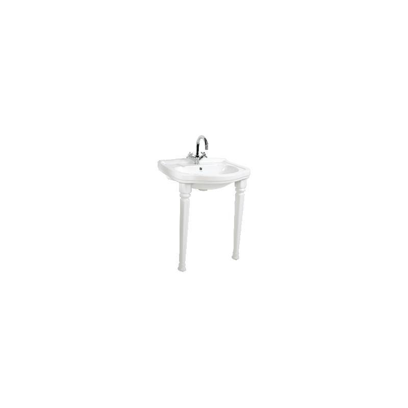 KLASIK (RETRO) ANTIQUE FULL PEDESTAL WHITE