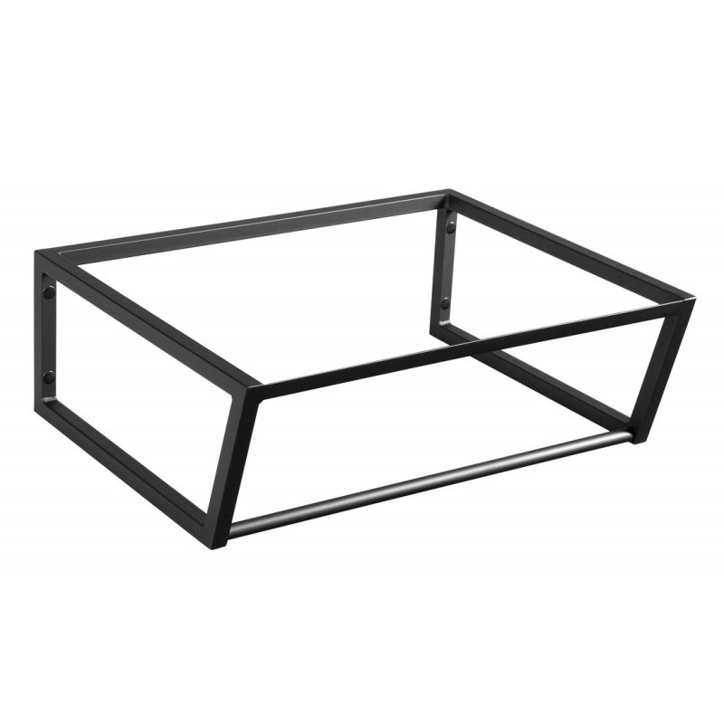 metallist valamukonstruktsioon Ska, 60 cm, matt must