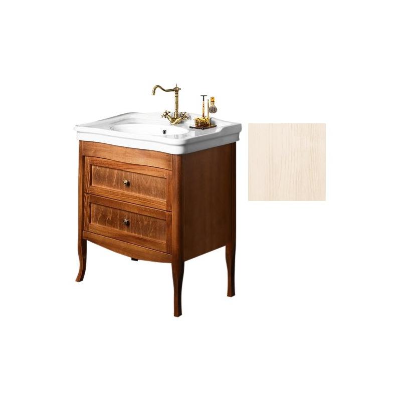 RETRO vanity unit 73x80x46,5 cm, antique white, basin not included. > - RETRO Vanity Unit 73x80x46,5 Cm, Antique White, Basin Not Included