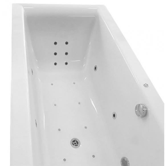 massaaživann Cleo Hydro-Air, 180x80x48 cm, valge