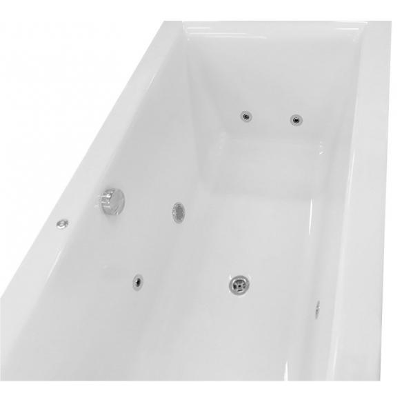 massaaživann Cleo Hydro, 180x80x48 cm, valge