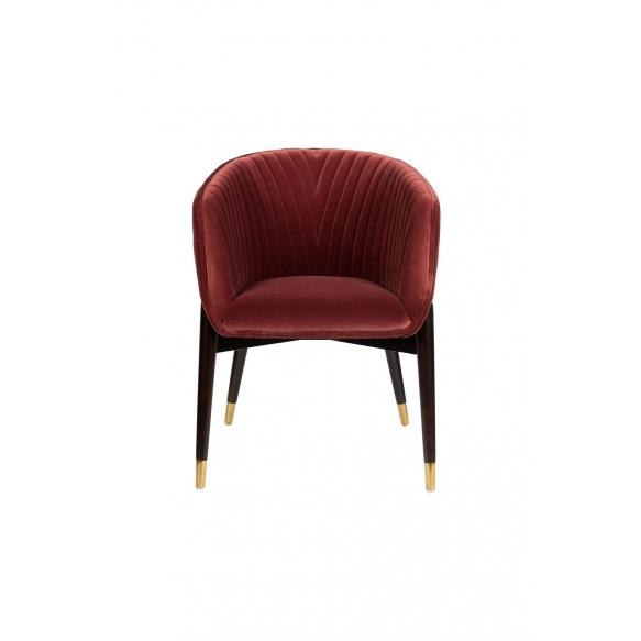 käetugedega tool Dolly Burgundy (fire retardant)