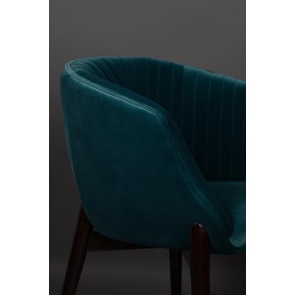 käetugedega tool Dolly Blue (fire retardant)