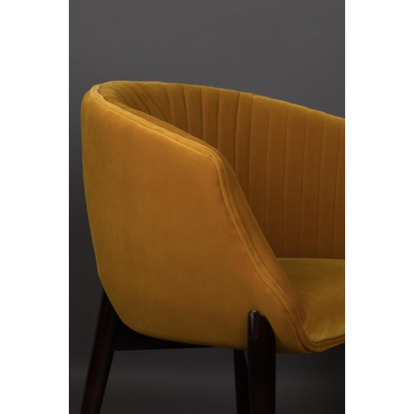 käetugedega tool Dolly Ochre (fire retardant)