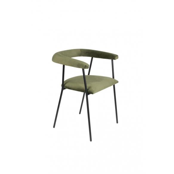käetugedega tool Haily, Dark Green