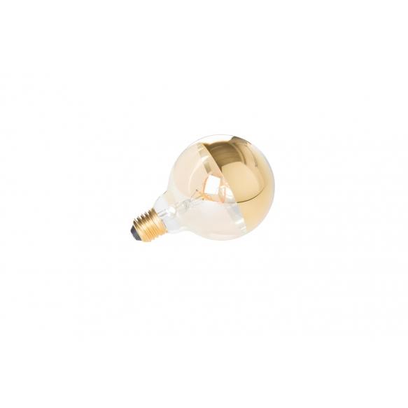 Edison Vintage pirn Globe Mirror Gold