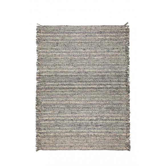 vaip Frills 170X240 Grey/Blue