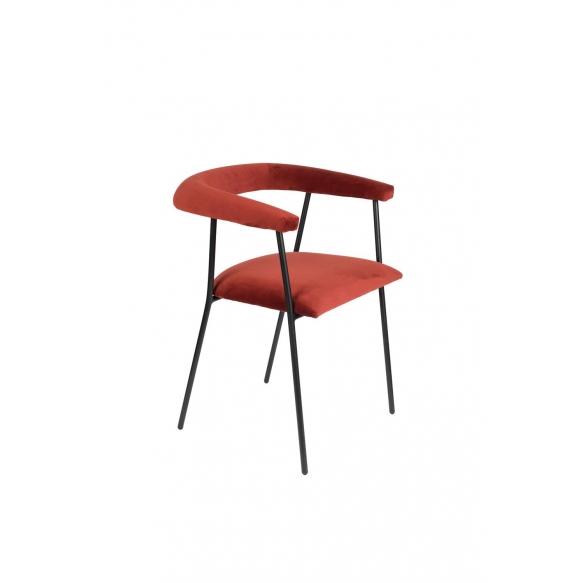 käetugedega tool Haily, Wine Red