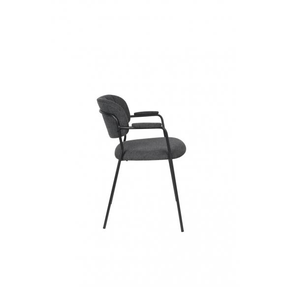 käetugedega tool Jolien must/tumehall
