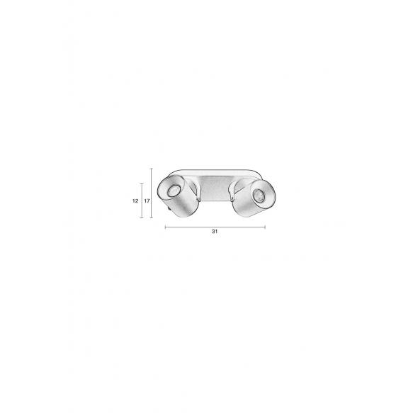 kohtvalgusti Valon-2 valge