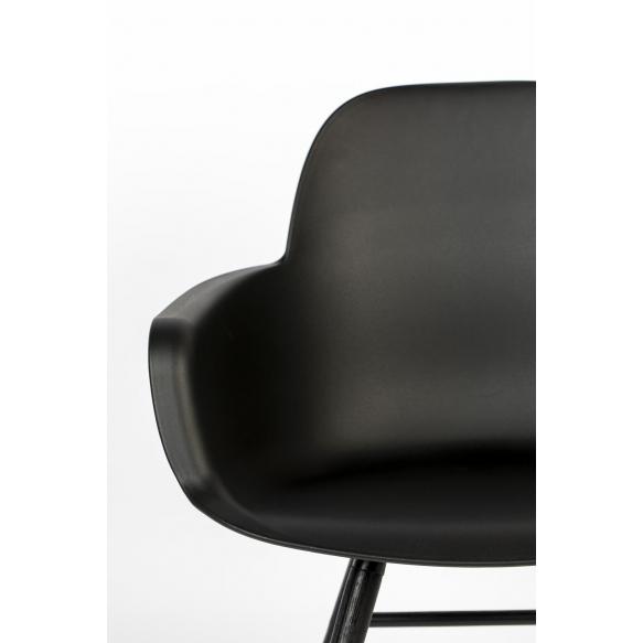 Käetugedega tool Albert Kuip All Black