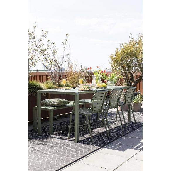 Käetugedega aiatool Vondel Green