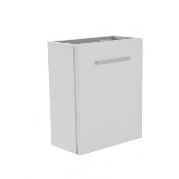 valamukapp 40x21x50 cm, läikiv valge