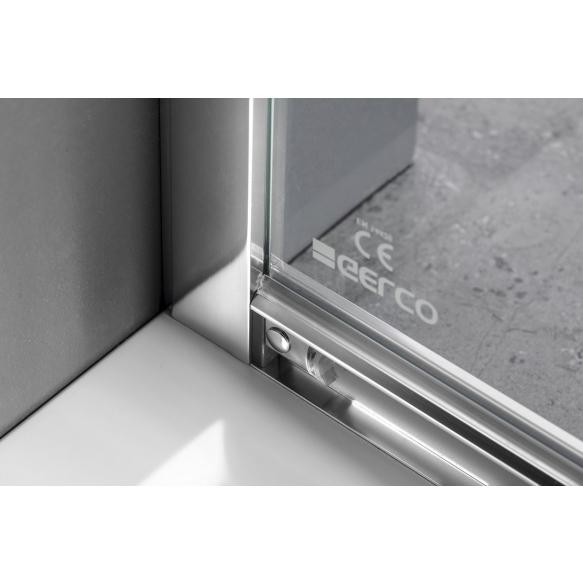 Dušikaar SIGMA SIMPLY 900x900mm, R550, kirgas klaas