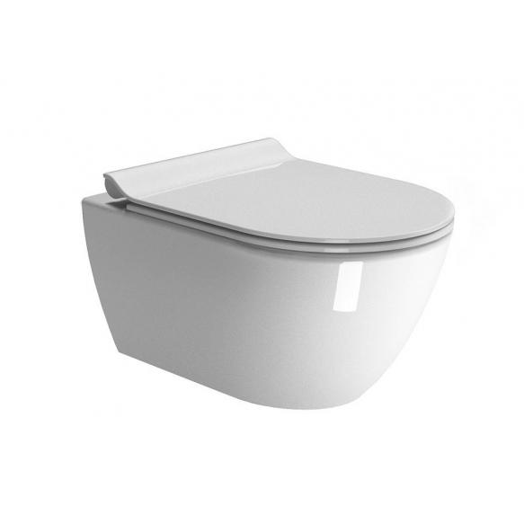 seina wc pott Pura, Swirlflush, valge