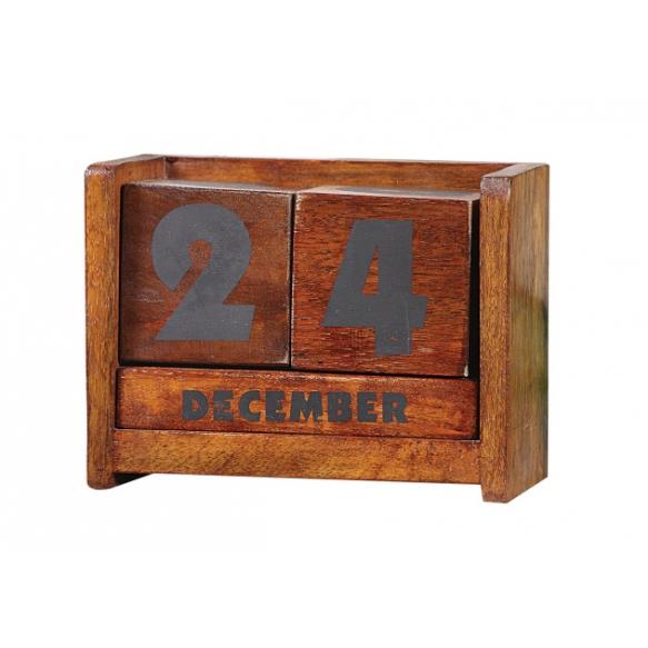 "7""L Wood Calendar Blocks"