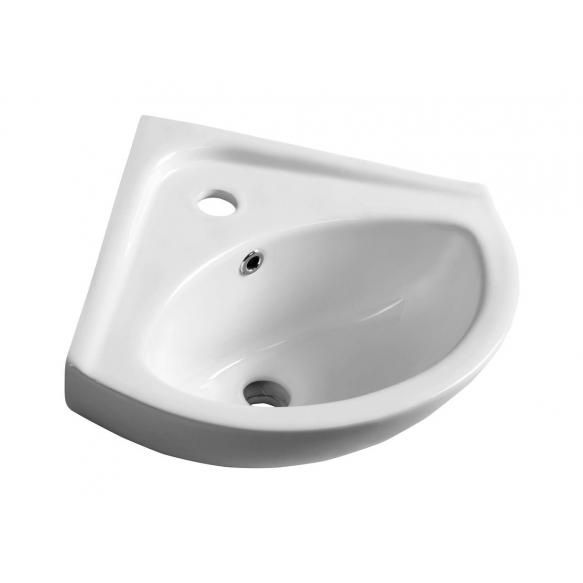 LUIGI ceramic washbasin corner 34x34cm