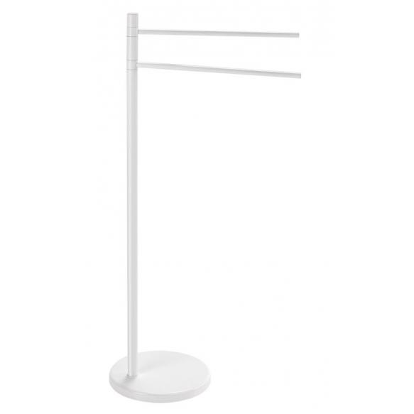 Freestanding Towel holder , white