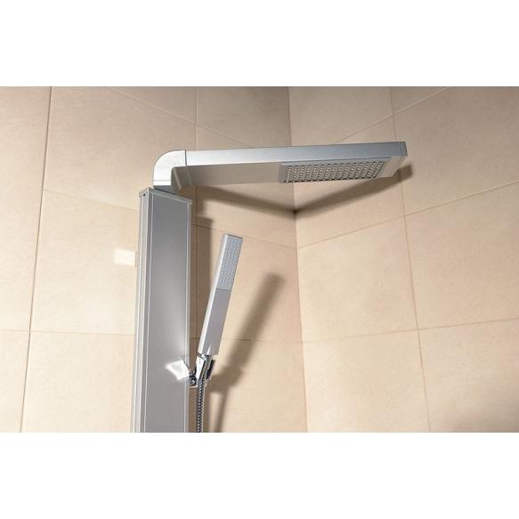 ROME Shower column, h. 822mm, aluminum