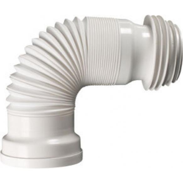 WC Flexible connection, extendible, 245-530 mm