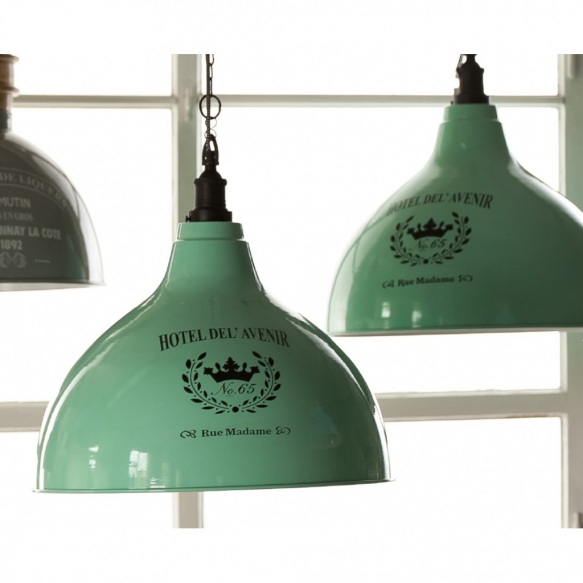 metal vintage ceiling lamp Hotel nr 65,
