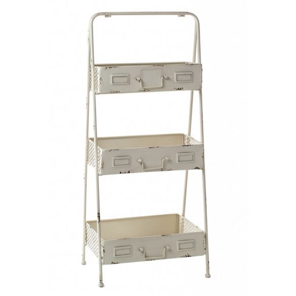 metal vintage shelf