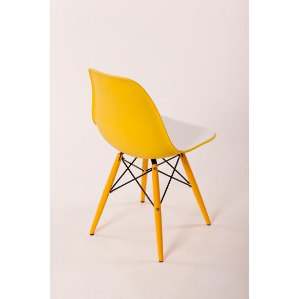 tool Alexis V, iste valge/kollane plast, kollased jalad
