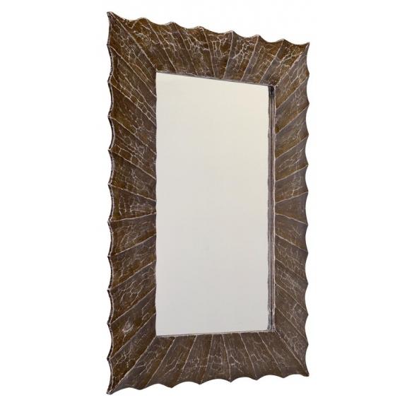 puidust raamis peegel Surya, 70x100cm