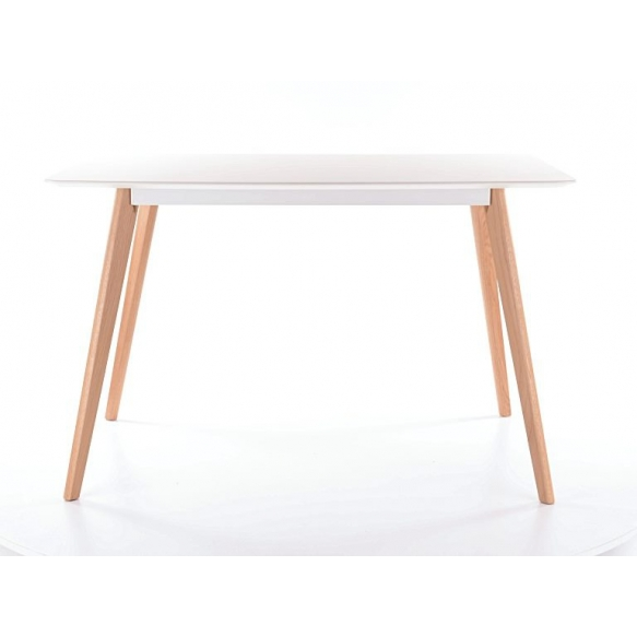 söögilaud Nordic, valge/tamm, 120x80 cm