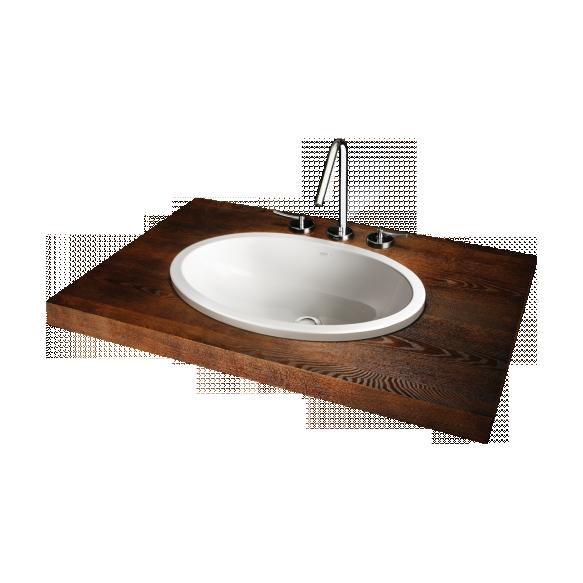 silkstone basin Ovo, worktop mount