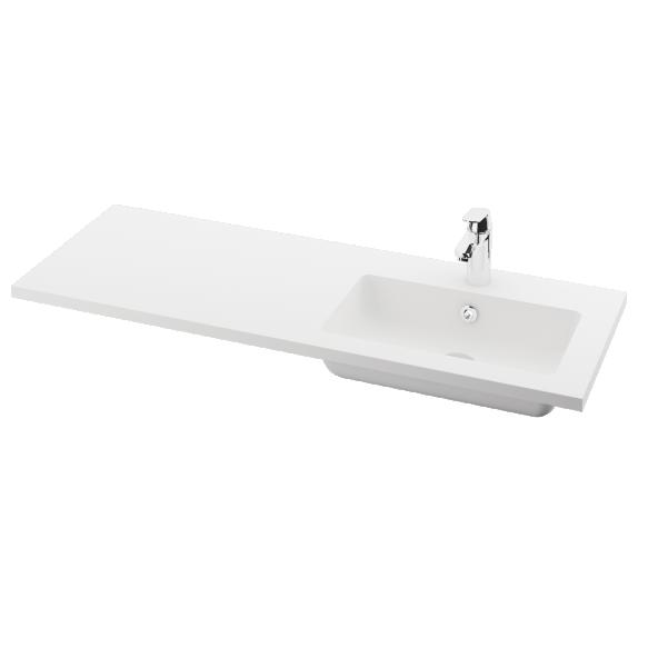 silkstone basin Opus 120cm,basin on  right
