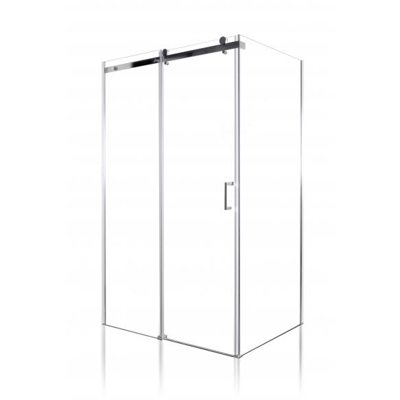 shower enclosure Peony 110x80x190 cm (RSD-PEO-110+RSW-PEO-80)