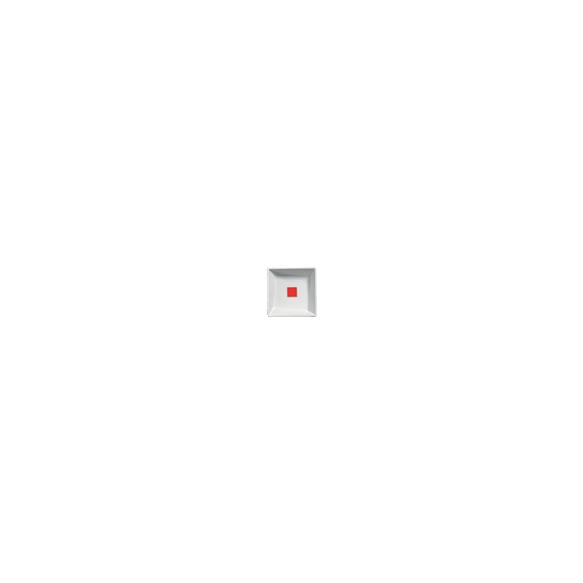 red ceramic lid for GM045 Geometry basin