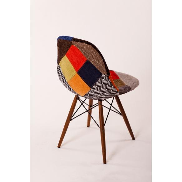 tool Alexis, patchwork kangas, pähklipruunid jalad