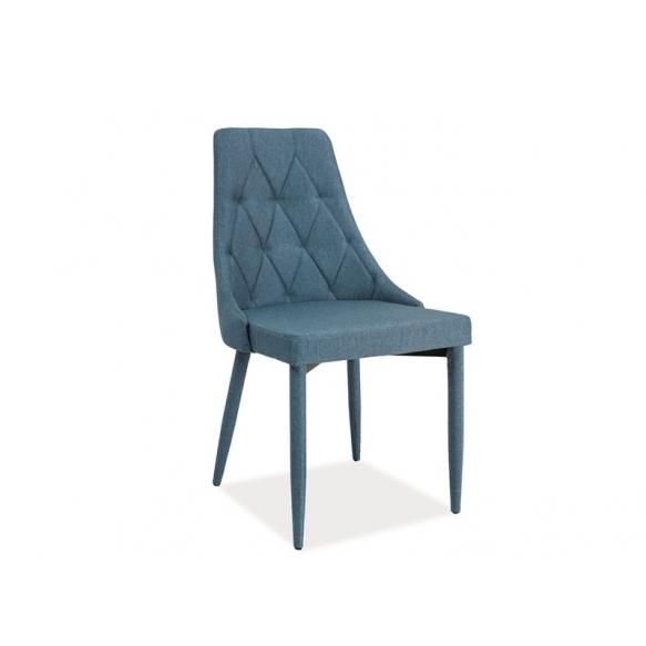chair Queen, blue
