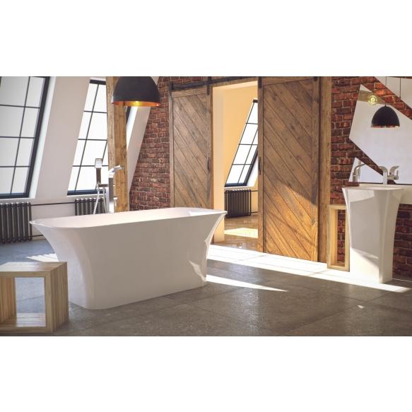 cast stone bath Essos, 160 cm