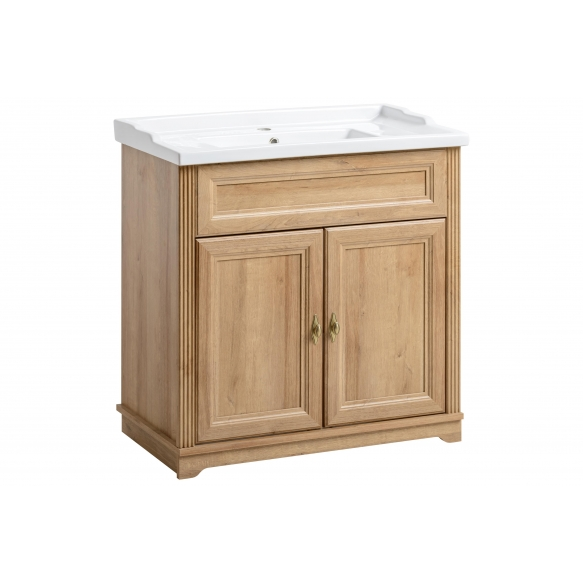 cabinet under washbasin Palace Riviera 80 cm, basin not included