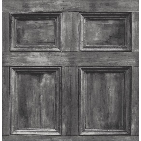 Wood Panel Sidewall, Silver