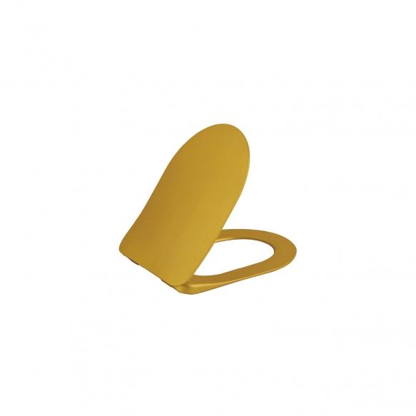 aeglaselt sulguv (soft close) WC iste, kuld, mudelid TP325,FE320, FE321