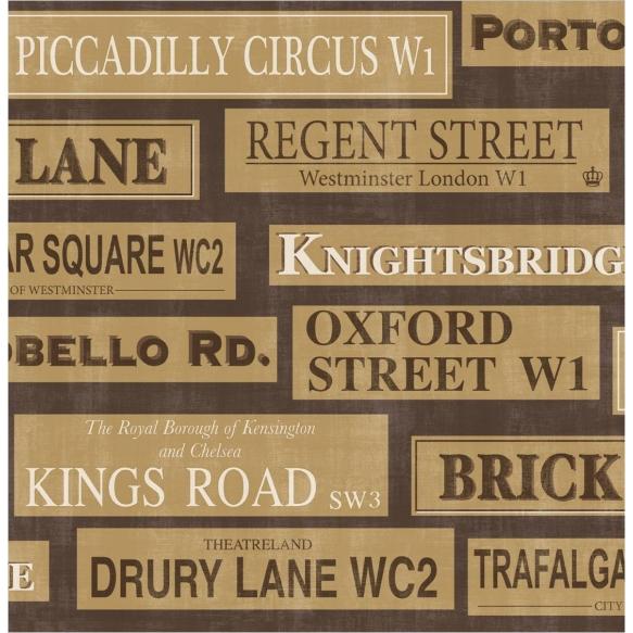 London Sidewall, Gold