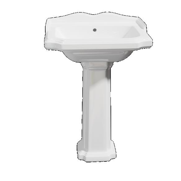 ceramic basin Antik, 58x47 cm
