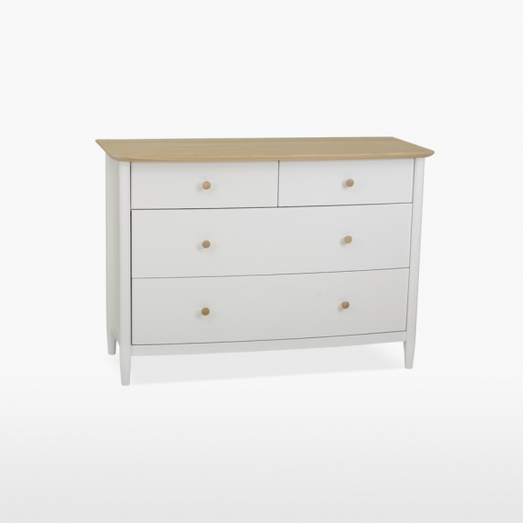 Chest of 4 drawers (2+2) Elise