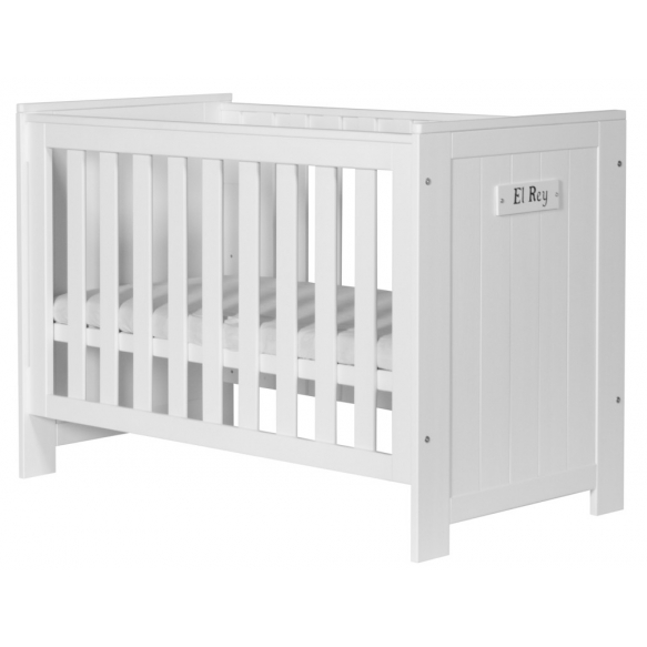 Barcelona - cot 120x60, drawer not included, white