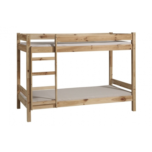 Bunk bed 200x90 Bed 2 (untreated), wood