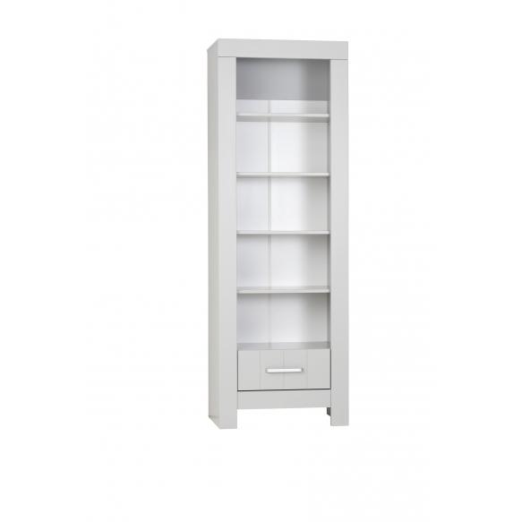 Calmo -  bookcase, grey